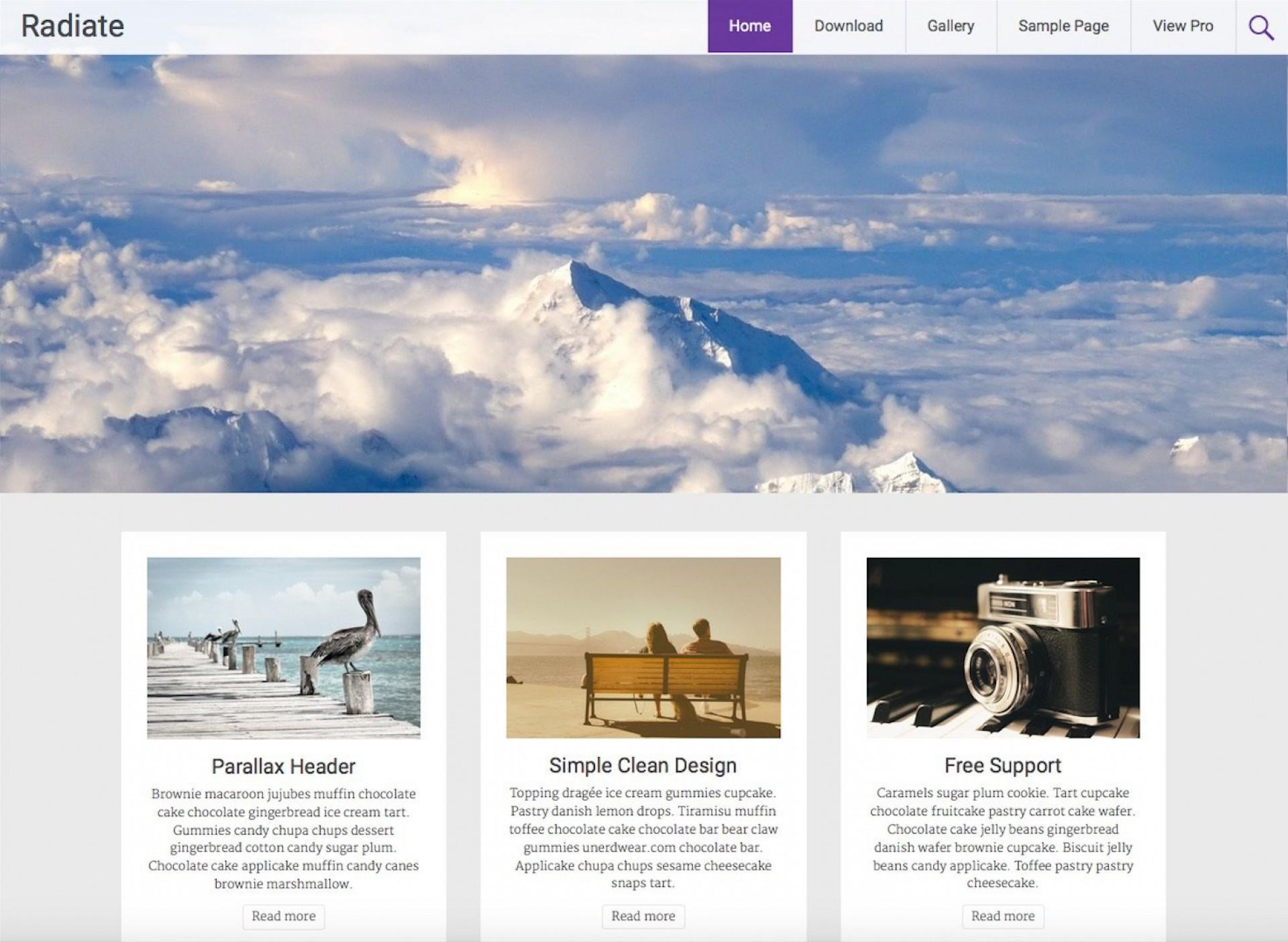003 Stupendou Free Blog Template Wordpres Picture  Wordpress Best Travel Theme Food 20201920