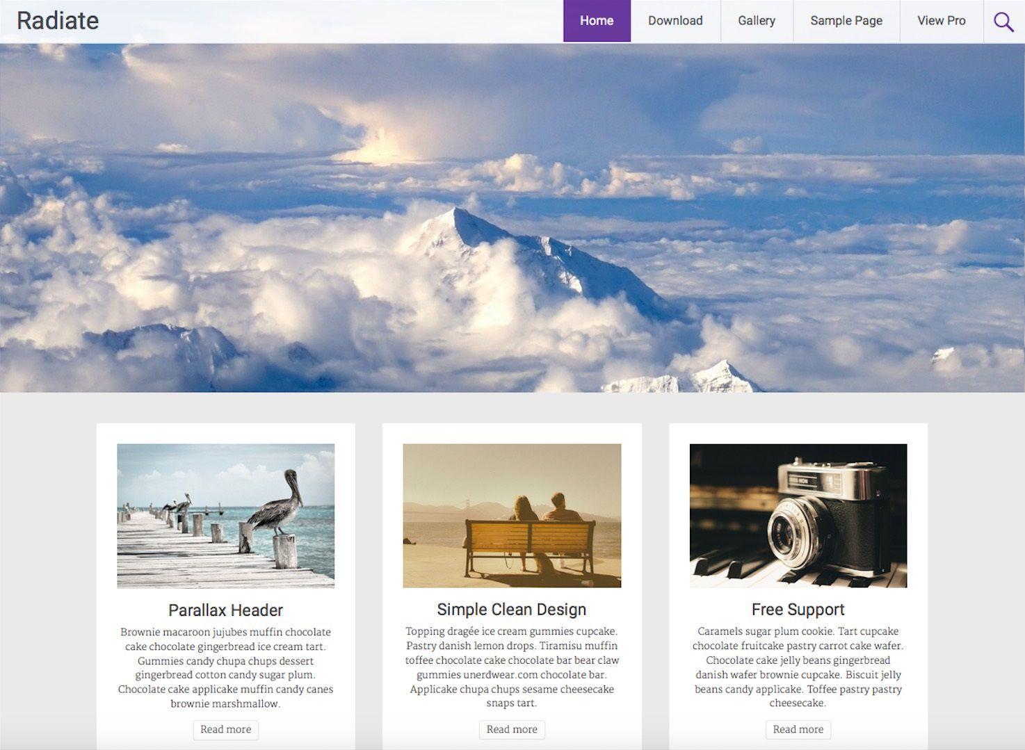 003 Stupendou Free Blog Template Wordpres Picture  Wordpress Best Travel Theme Food 2020Full