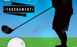 003 Stupendou Free Charity Golf Tournament Flyer Template Design