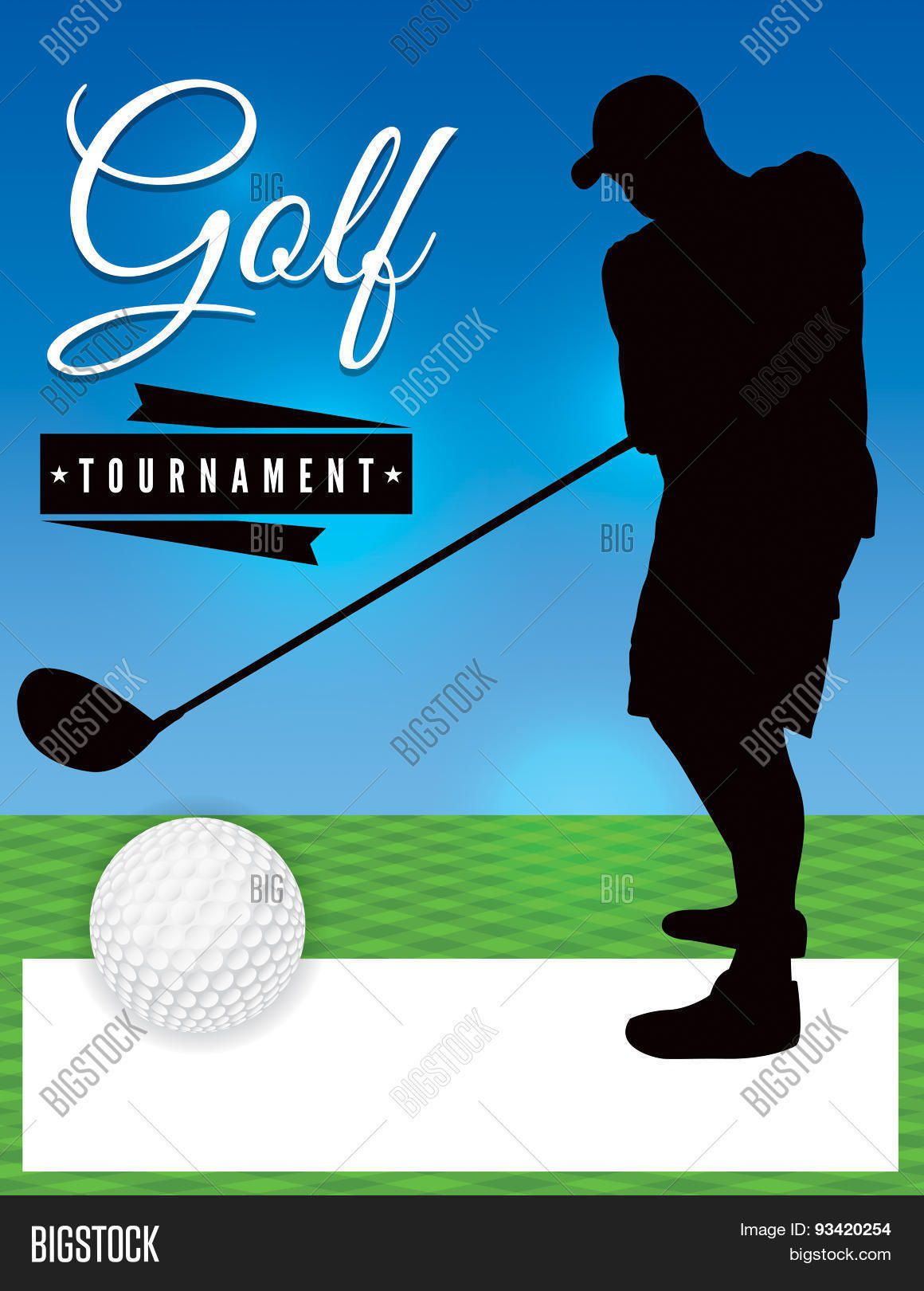 003 Stupendou Free Charity Golf Tournament Flyer Template Design Full