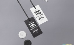 003 Stupendou Free Clothing Label Design Template Photo  Templates Download