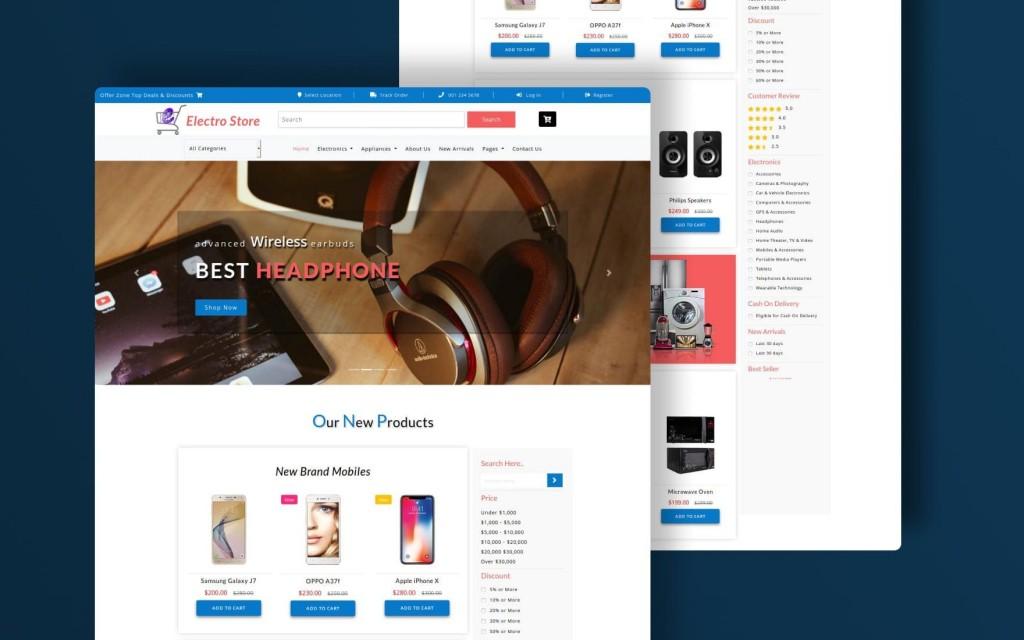 003 Stupendou Free Html Template Download For Online Shopping Website Picture  WebsitesLarge
