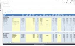 003 Stupendou Free Line Item Budget Template Sample
