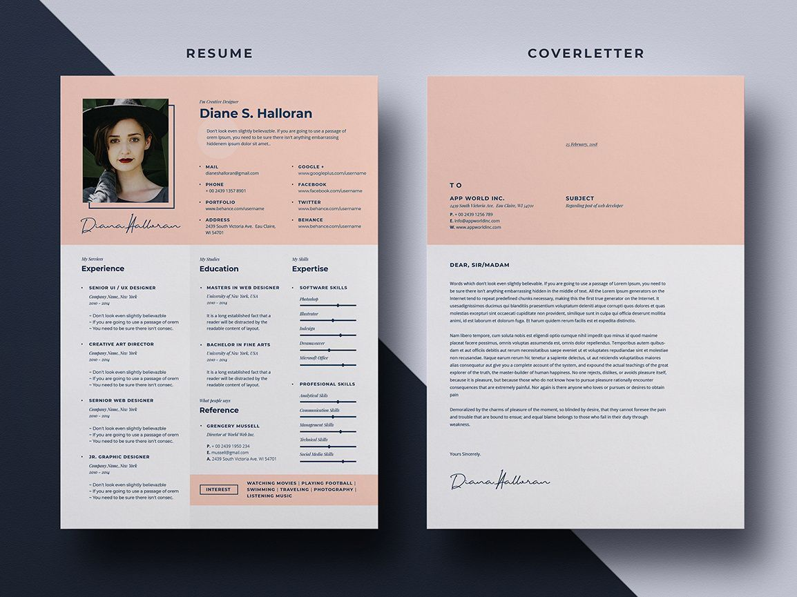 003 Stupendou Free Psd Resume Template Idea  Templates Attractive Download Creative (psd Id) Curriculum VitaeFull