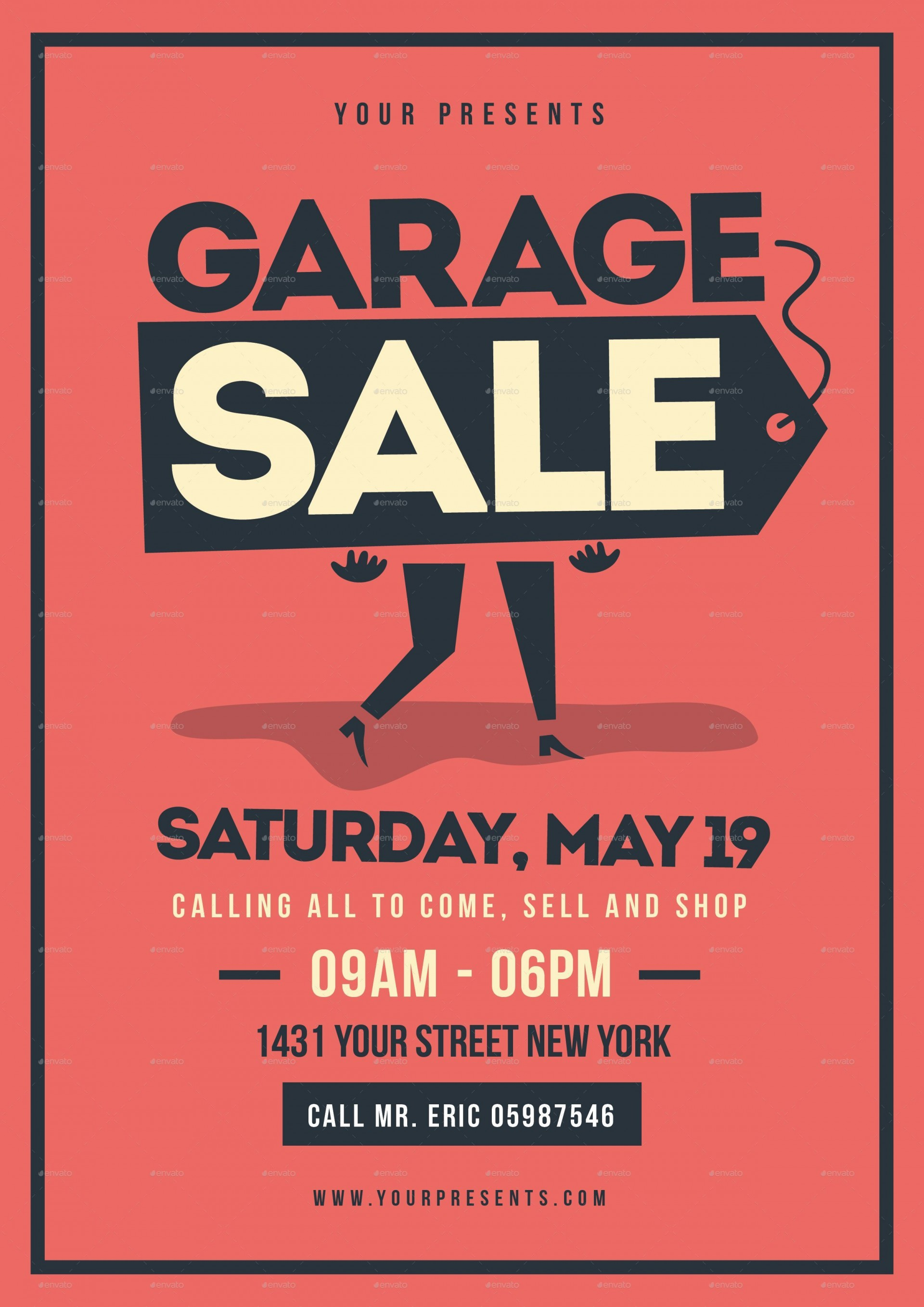003 Stupendou Garage Sale Sign Template Image  Flyer Microsoft Word Community Yard Free Rummage1920