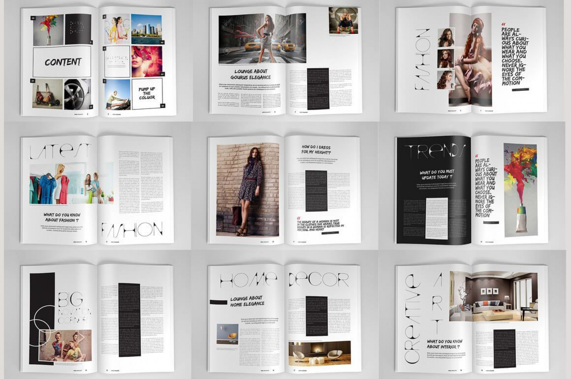 003 Stupendou Magazine Template Free Word Inspiration  For Microsoft Download Article1920