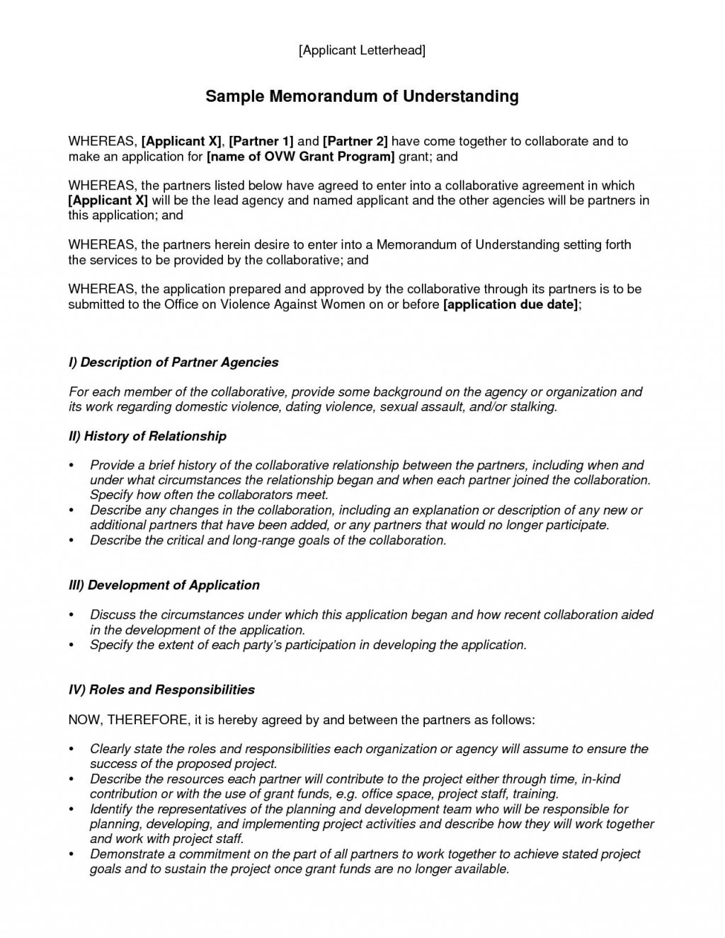 003 Stupendou Memorandum Of Agreement Template Example  Templates Sample Tagalog South Africa Philippine DocLarge
