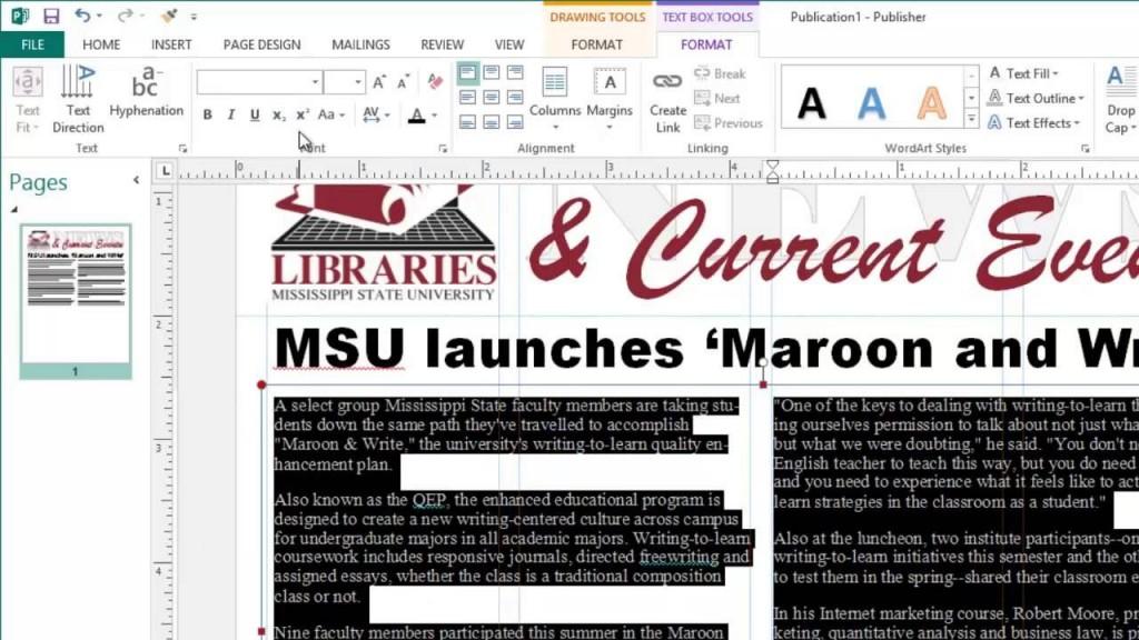 003 Stupendou Microsoft Publisher Newsletter Template Highest Quality  School Free DownloadLarge