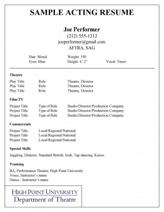 003 Stupendou Musical Theater Resume Template Word Photo  Theatre320