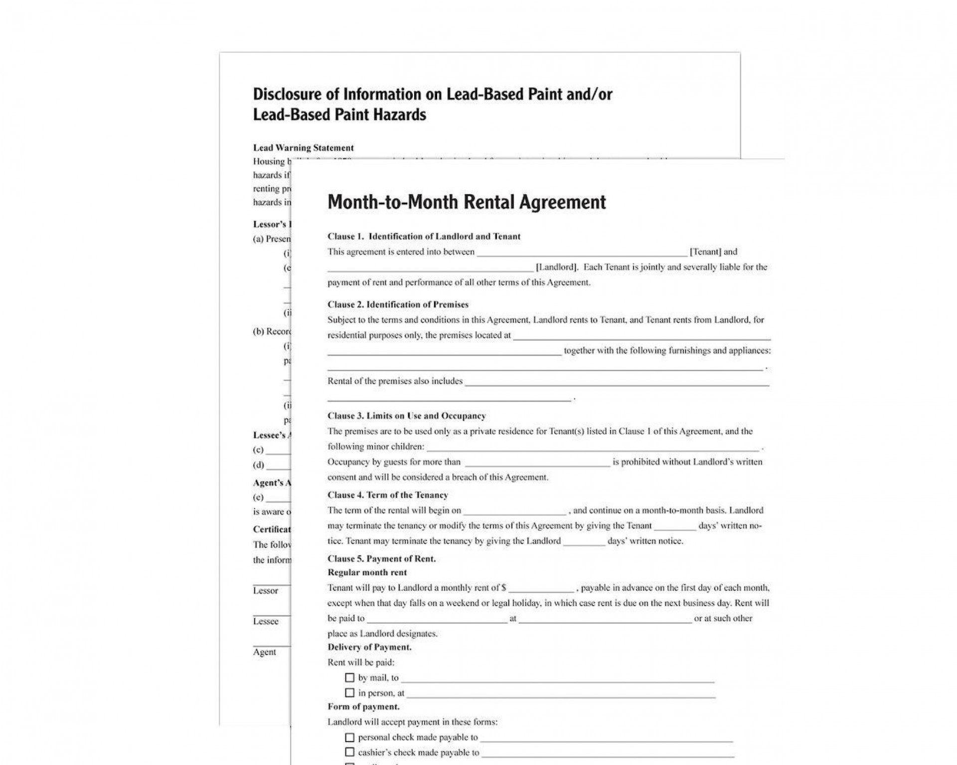 003 Stupendou Renter Lease Agreement Form Idea  Rent Format In Tamil Florida Rental Printable1920