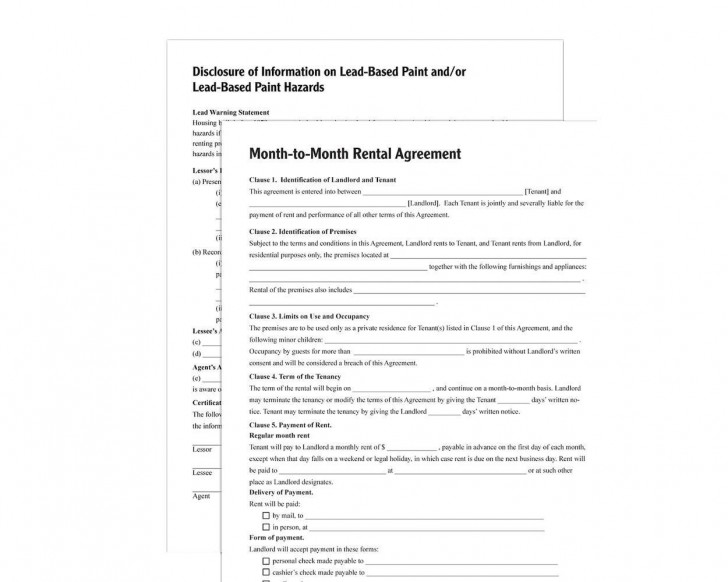 003 Stupendou Renter Lease Agreement Form Idea  Rent Format In Tamil Florida Rental Printable728