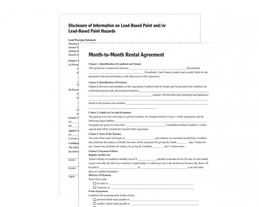003 Stupendou Renter Lease Agreement Form Idea  Rent Format In Tamil Florida Rental Printable868