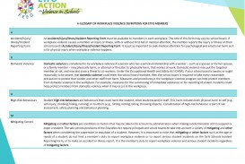 003 Stupendou Workplace Violence Incident Report Form Ontario Design