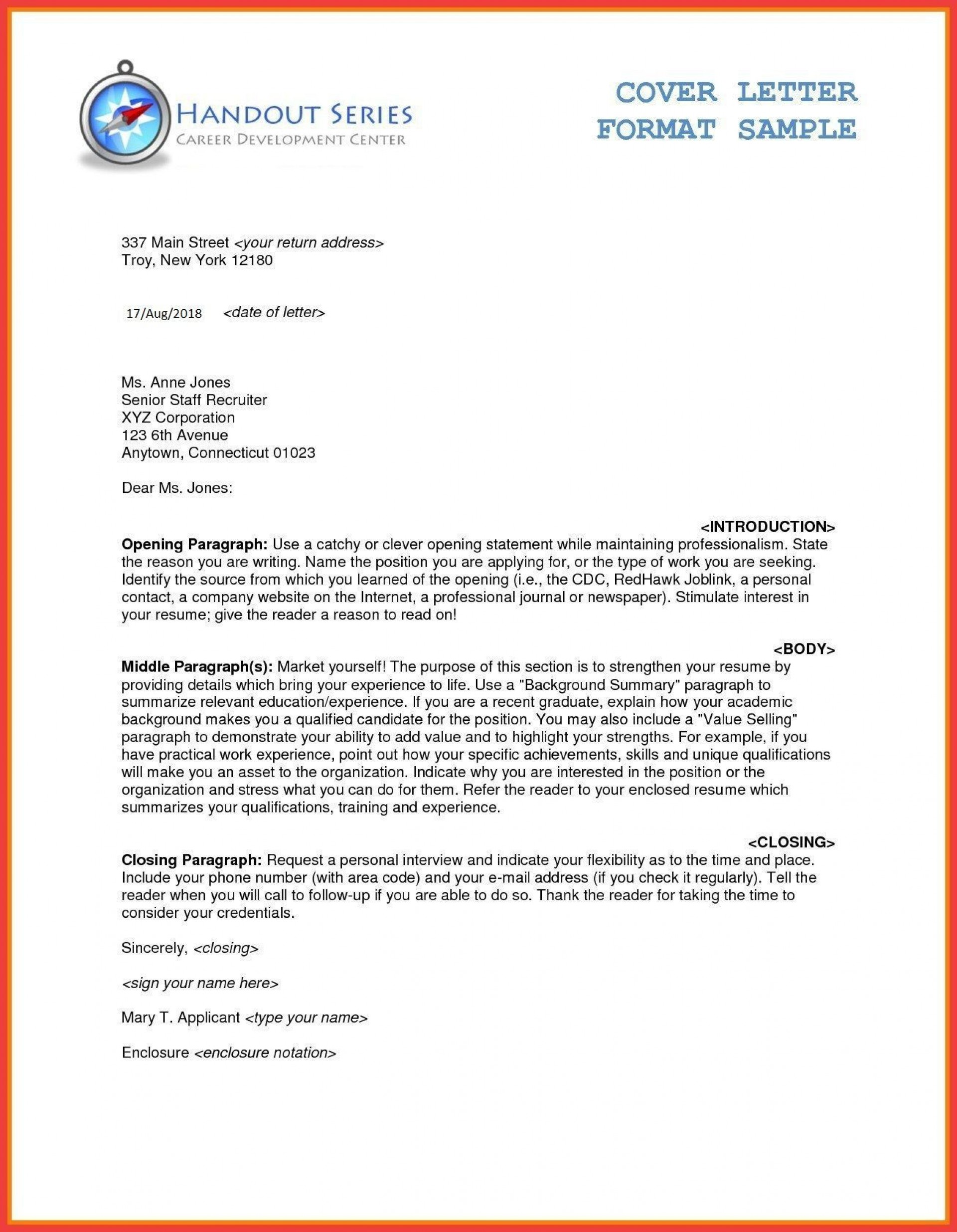 Business Letter Template Word Addictionary