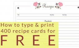 003 Surprising Free 4x6 Recipe Card Template For Microsoft Word Picture  Editable