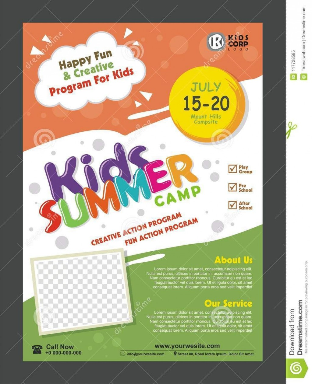 003 Surprising Free After School Flyer Template Picture  TemplatesLarge