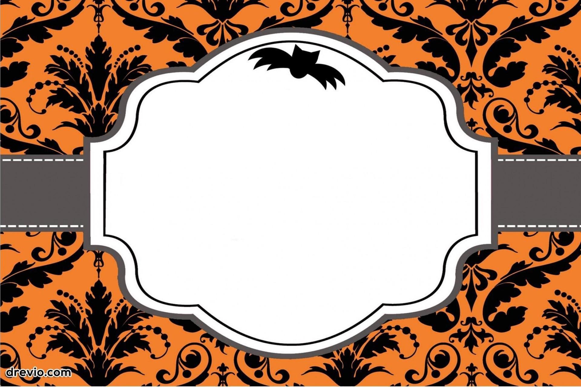 003 Surprising Free Halloween Invitation Template Design  Templates Online Printable Birthday Party Wedding1920