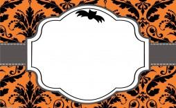 003 Surprising Free Halloween Invitation Template Design  Templates Online Printable Birthday Party Wedding
