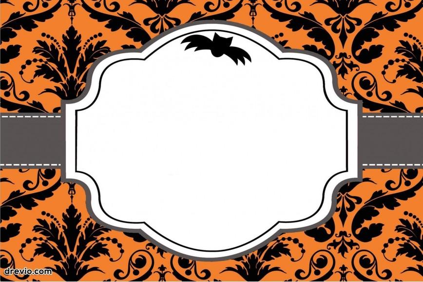 Free Halloween Invitation Templates Addictionary