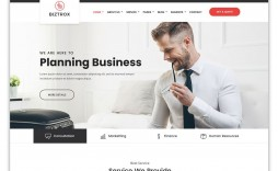 003 Surprising Free Html Busines Web Template Download Design  And Cs For