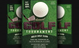 003 Surprising Golf Tournament Flyer Template Highest Quality  Word Free Pdf