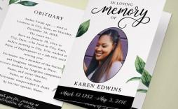 003 Surprising In Loving Memory Template Inspiration  Free Download Card Bookmark