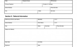 003 Surprising Medical Referral Form Template Highest Quality  Dental Patient Doctor Free Physician