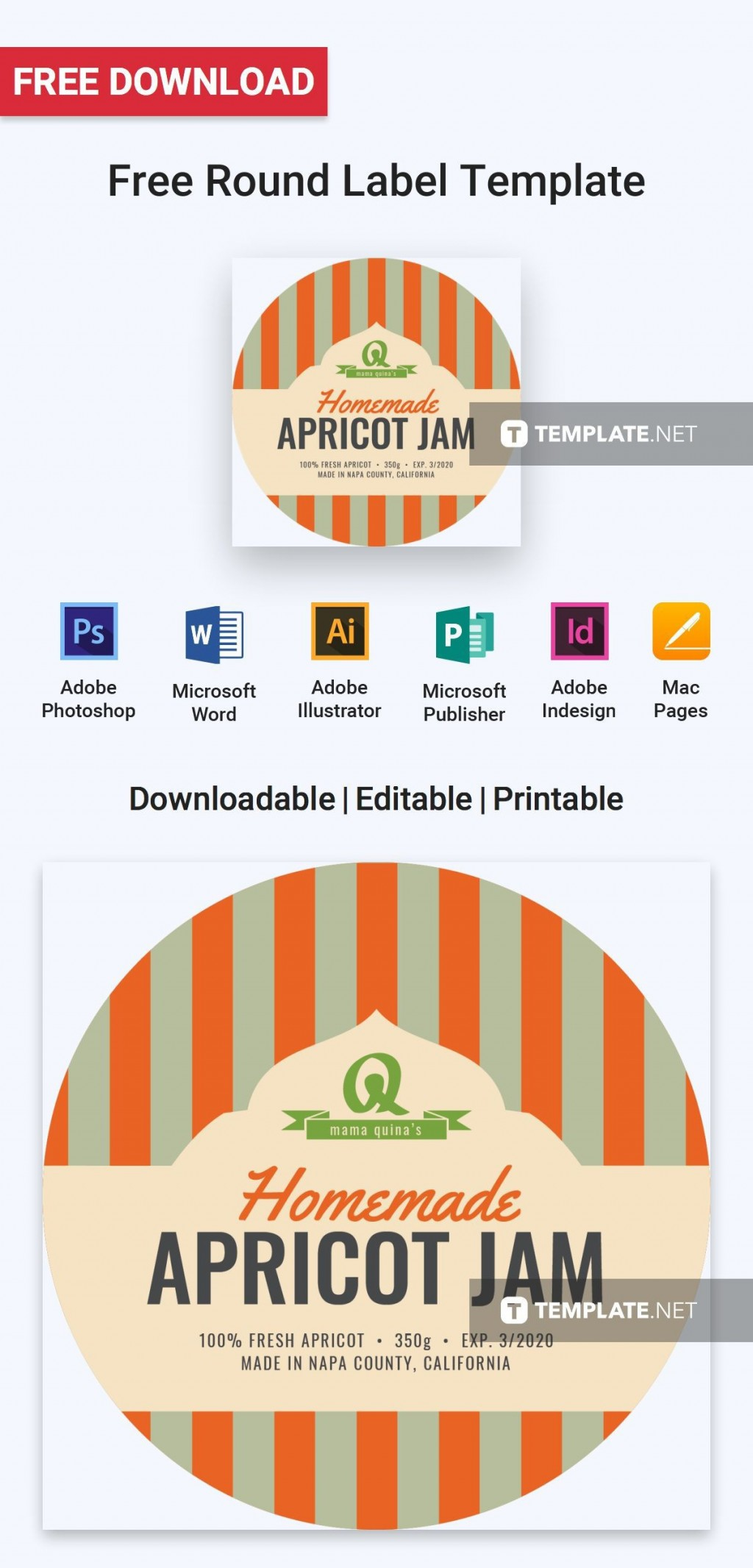 003 Surprising Microsoft Word Label Template Free Download High Definition Large