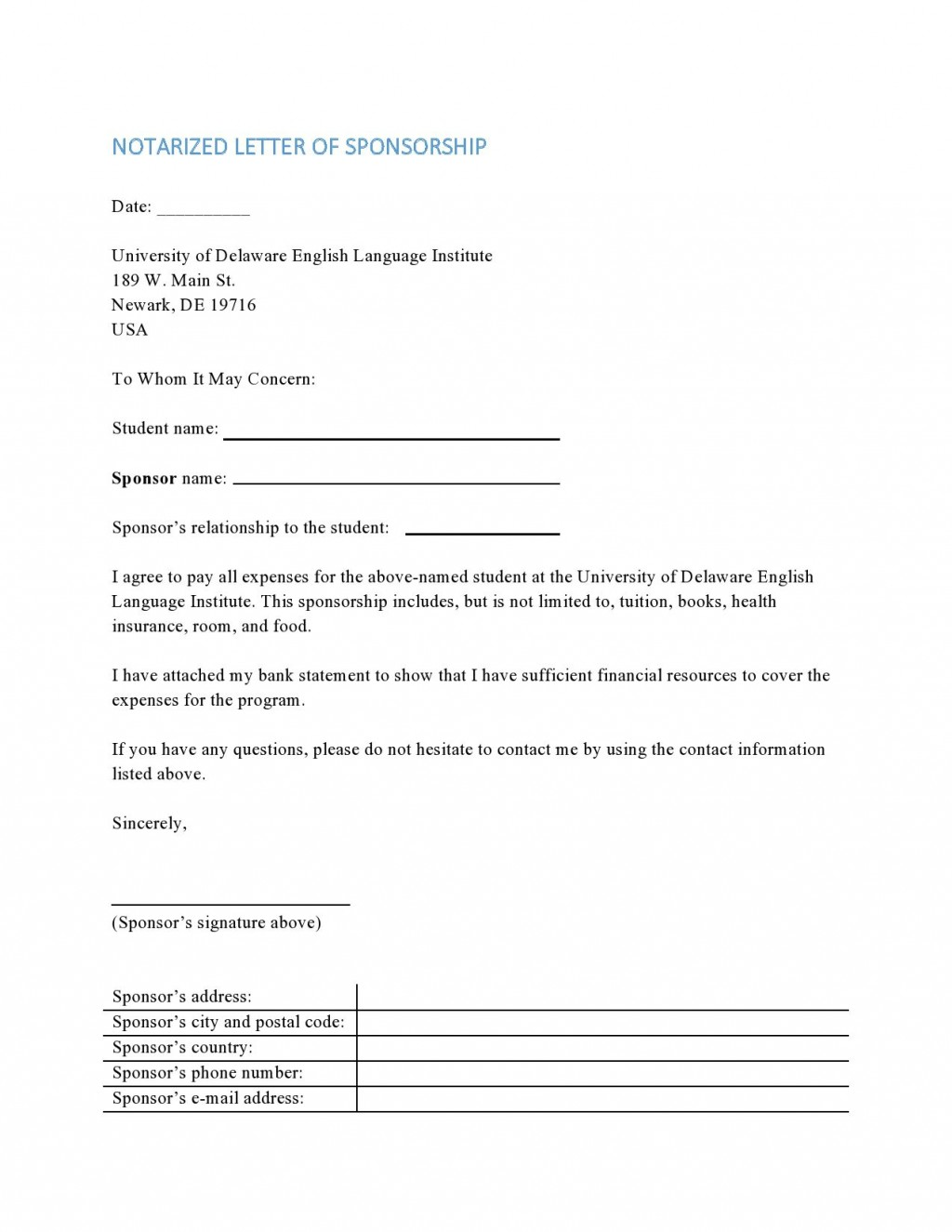 003 Surprising Notarized Letter Template Word High Def  MicrosoftLarge