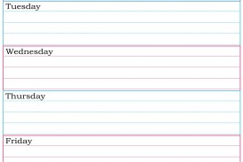 003 Surprising Printable Weekly Planner Template Cute Inspiration  Free Calendar