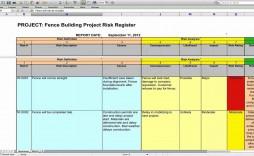003 Surprising Project Risk Management Plan Template Excel Free Design