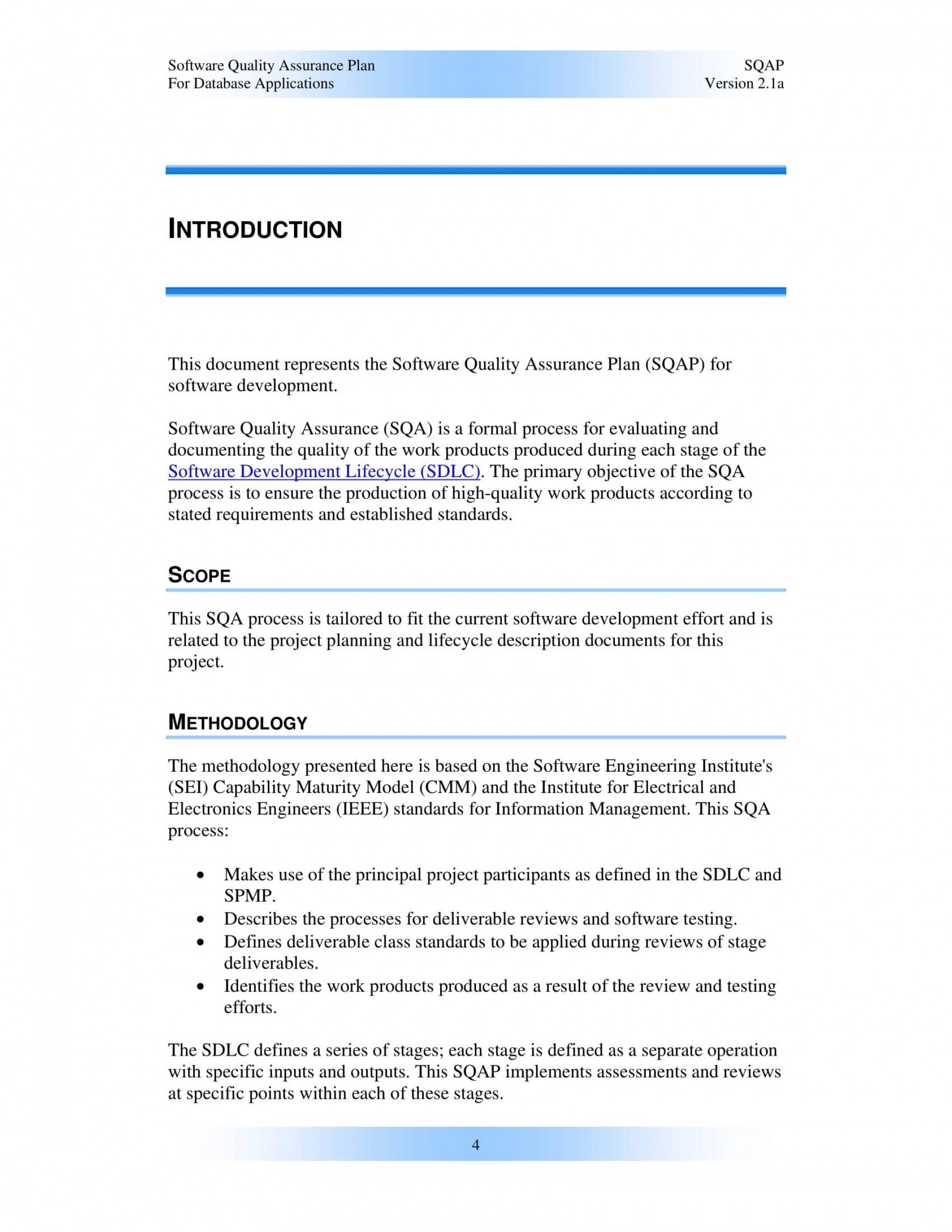 003 Surprising Quality Control Plan Template Concept  Templates Hud Sample Busines Example Pdf1920
