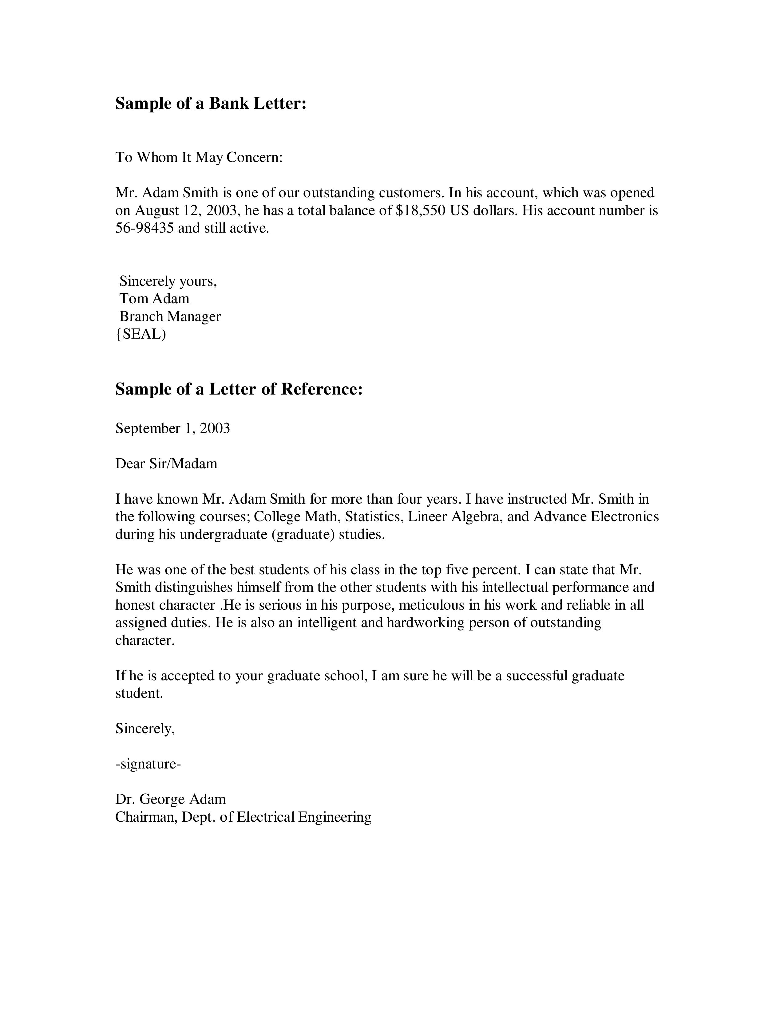 Sample Recommendation Letter For A Job from www.addictionary.org