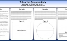 003 Surprising Research Poster Template Powerpoint Photo  Scientific Ppt