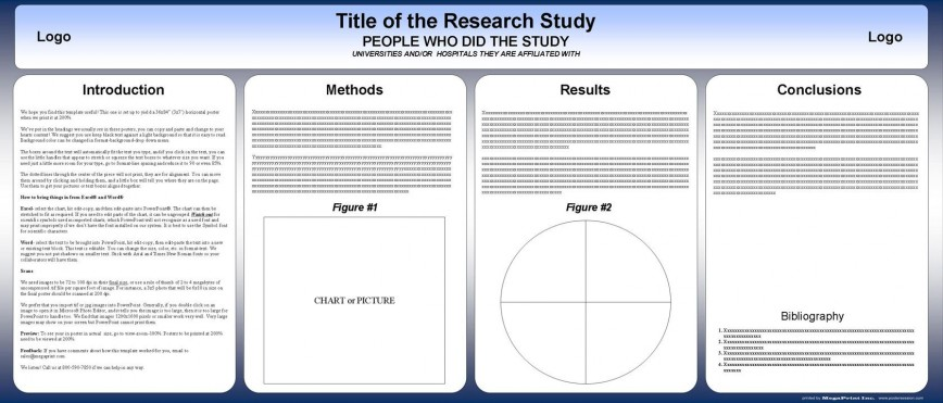 003 Surprising Research Poster Template Powerpoint Photo  Free Scientific Ppt Academic
