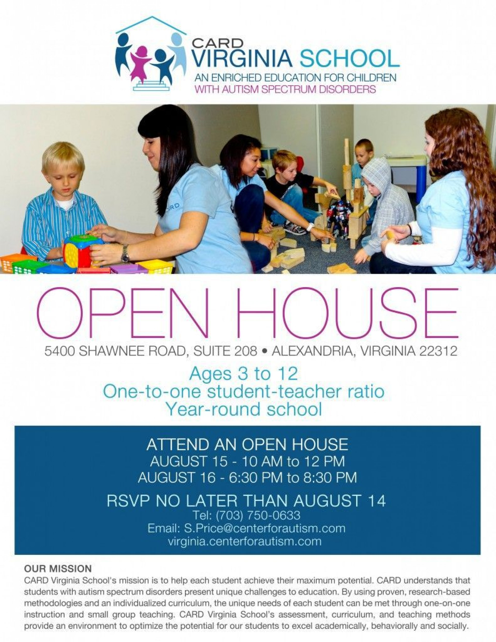 003 Surprising School Open House Flyer Template Image  Free Microsoft1920