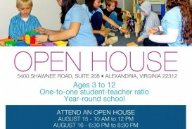 003 Surprising School Open House Flyer Template Image  Free Microsoft