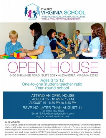 003 Surprising School Open House Flyer Template Image  Free Microsoft360
