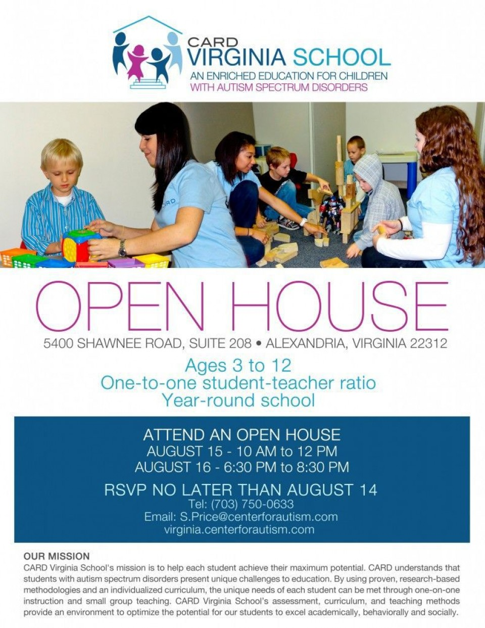 003 Surprising School Open House Flyer Template Image  Free Microsoft960