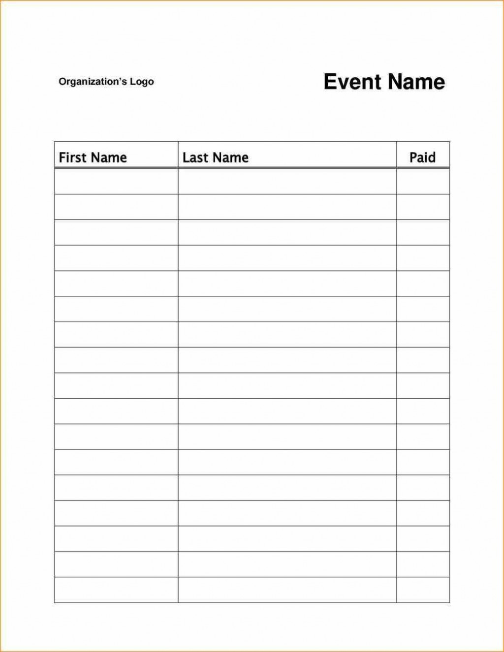 003 Surprising Sign Up Sheet Template Image  Staff In OfficeLarge