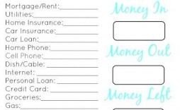 003 Surprising Simple Monthly Budget Template Free Printable Example