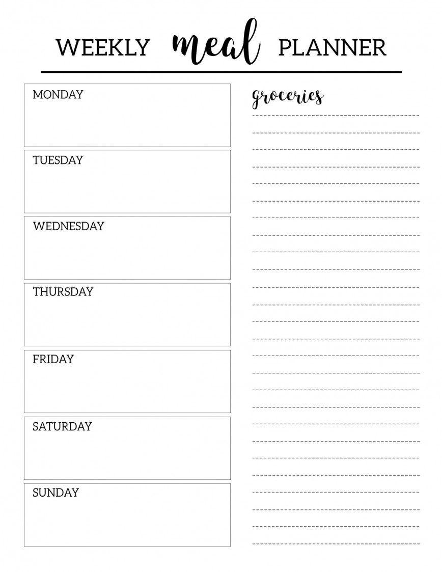 003 Surprising Weekly Meal Planning Worksheet Pdf Inspiration  FreeFull