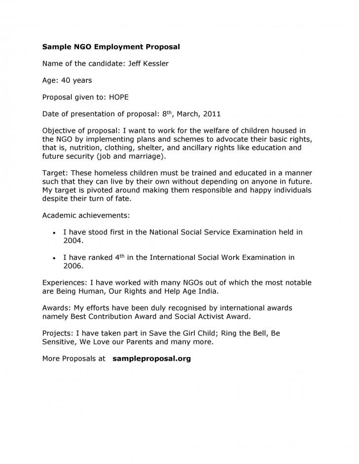 003 Surprising Writing A Job Proposal Template Sample Design 728