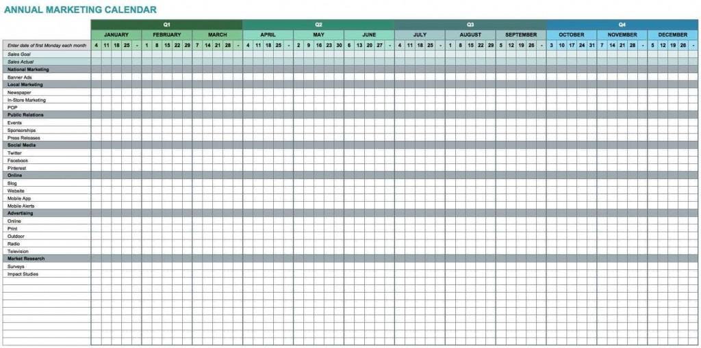 003 Top 52 Week Calendar Template Excel Picture  2020 2019 2021Large