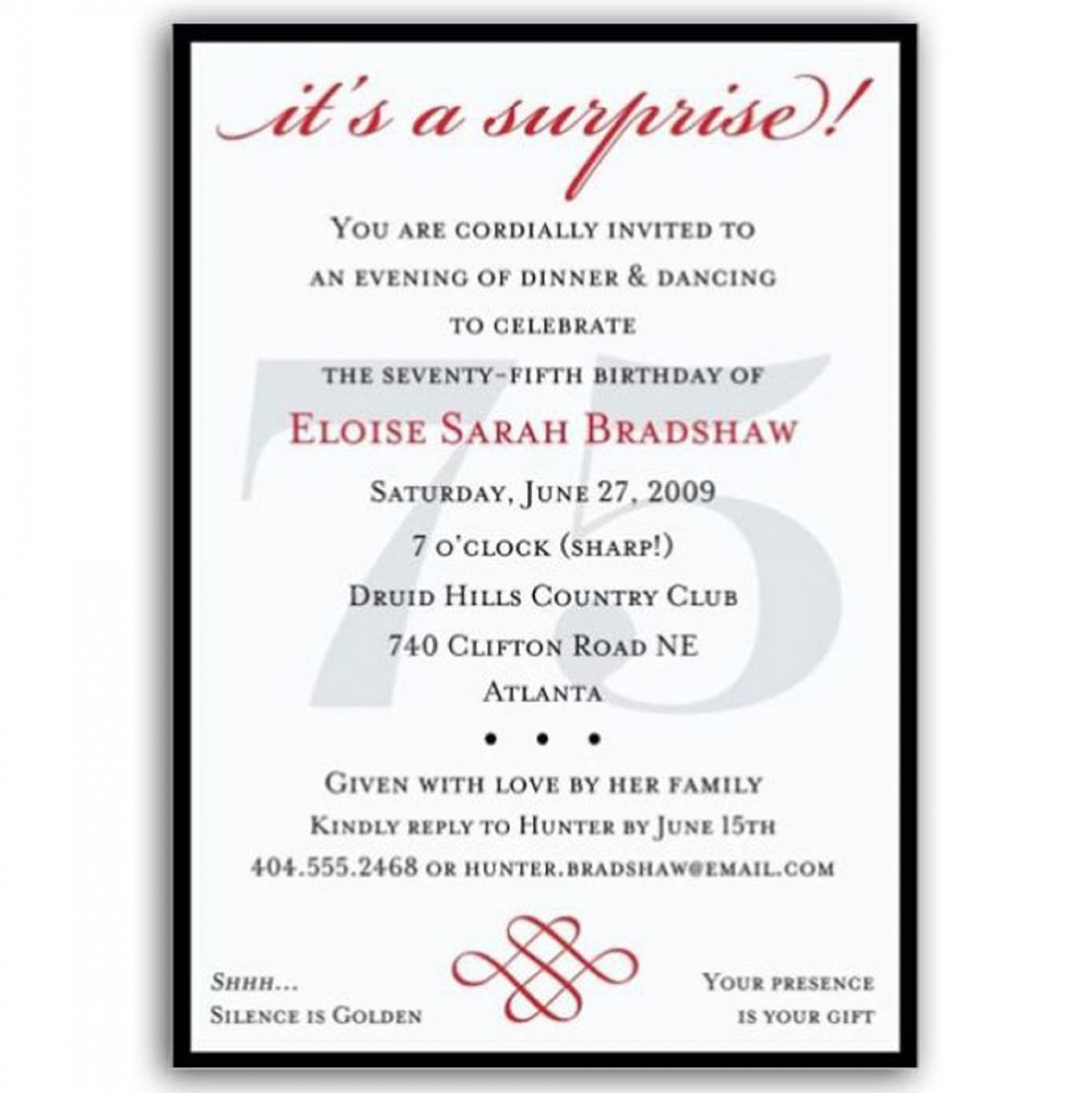 003 Top Birthday Invitation Wording Example Highest Clarity  Examples Party Invite Brunch Idea1920