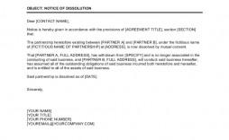 003 Top Busines Partnership Separation Agreement Template Photo  Partner Termination