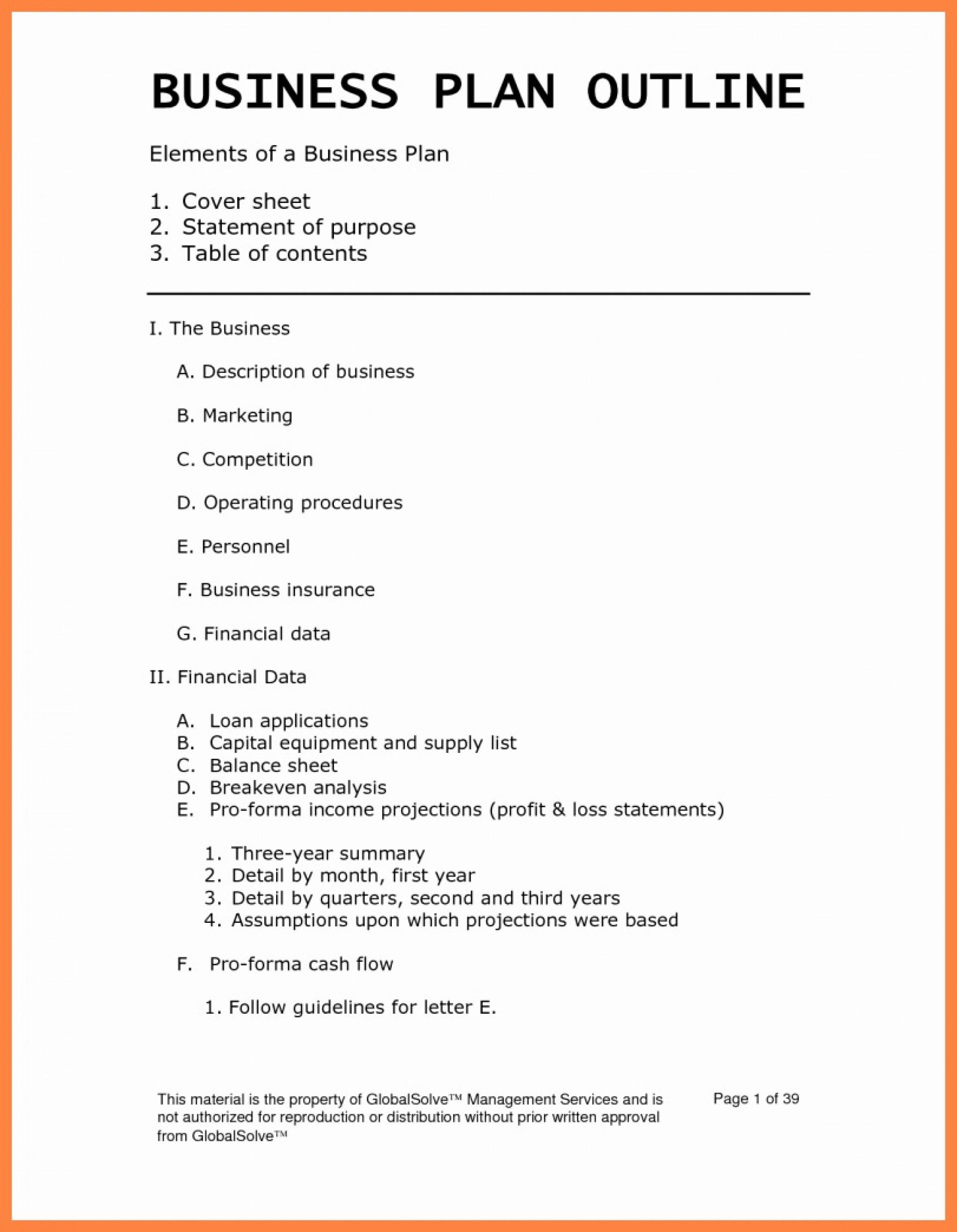 003 Top Busines Plan Template Pdf Image  Restaurant Sample Free Example Uk Doc1920
