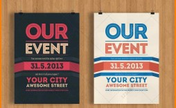 003 Top Event Flyer Template Word High Resolution  Free Spring