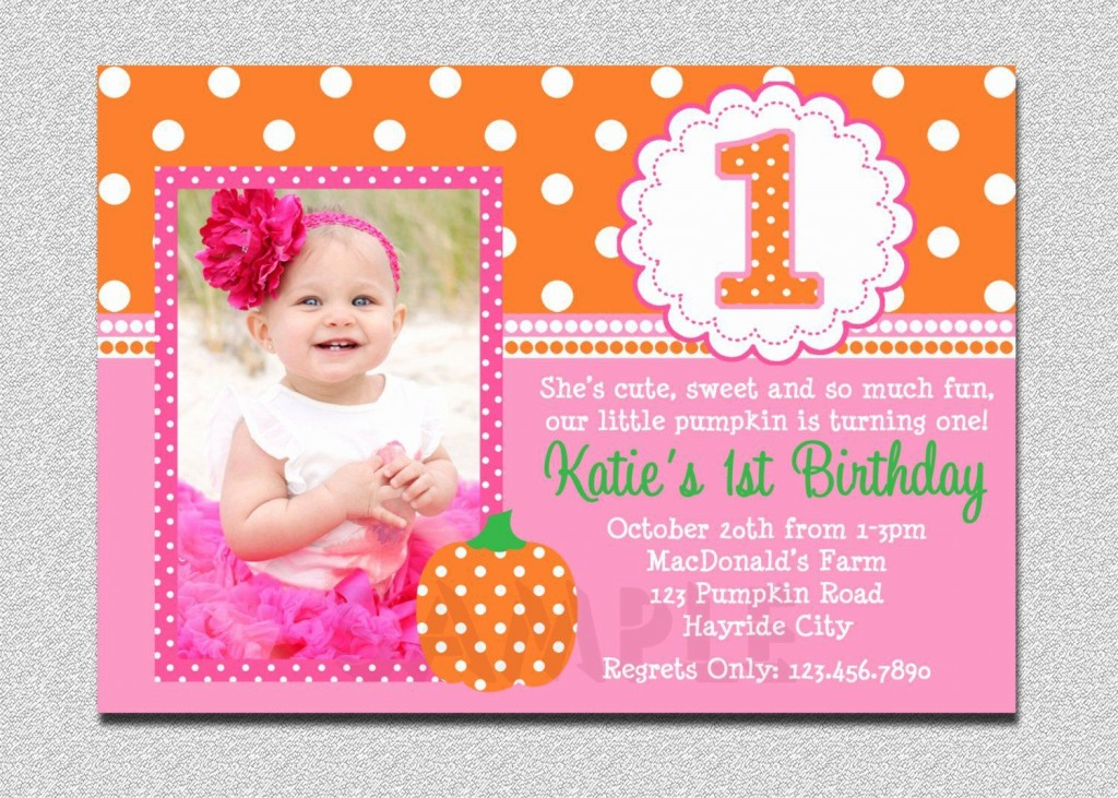 003 Top Free 1st Birthday Invitation Template For Word Example Large