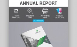 003 Top Free Adobe Indesign Annual Report Template Sample